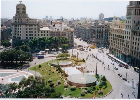 Place of  Cataluña
